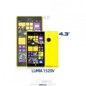 Lumia 1520 и Lumia 1520V