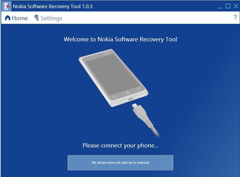 скачать программу Lumia Software Recovery Tool - фото 7