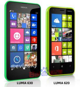 Nokia Lumia 630 и Lumia 620