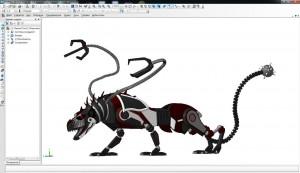 Рисунок 6. Модель Цербер – победитель конкурса Machinator's challenge