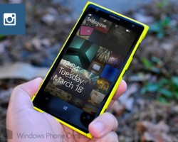 Instagram для Windows Phone научили работать с экраном блокировки
