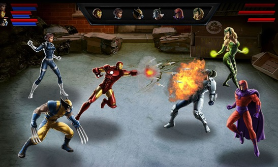 Avengers Alliance для Windows Phone