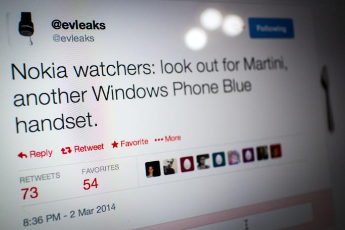 EvLeaks о Nokia Martini