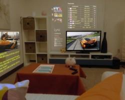 3D-браузер от Microsoft: стены в роли монитора
