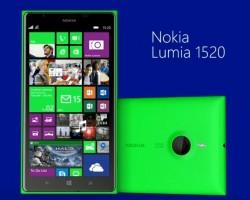 Nokia Lumia 1520 в зеленом корпусе (Видео)