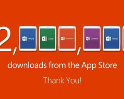 Запуск пакета Office для iPad оказался успешным