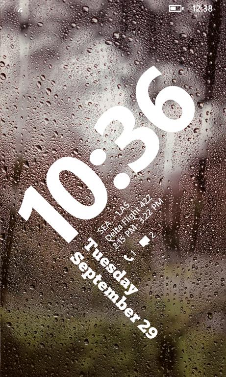 Стартовый экран в Windows Phone 8.1