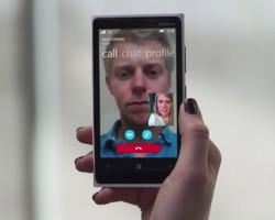 Подробности обобновлённом Skype для Windows Phone8.1