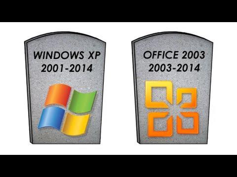 Наряду с Windows XP Microsoft прекращает и поддержку Office 2003