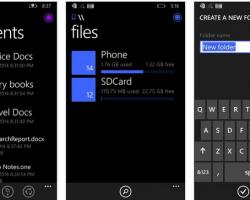 Файловый менеджер появится на Windows Phone 8.1 в июне