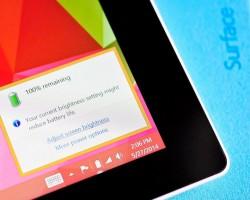 Модели Surface Pro 3 с разными процессорами будут работать одинаково долго