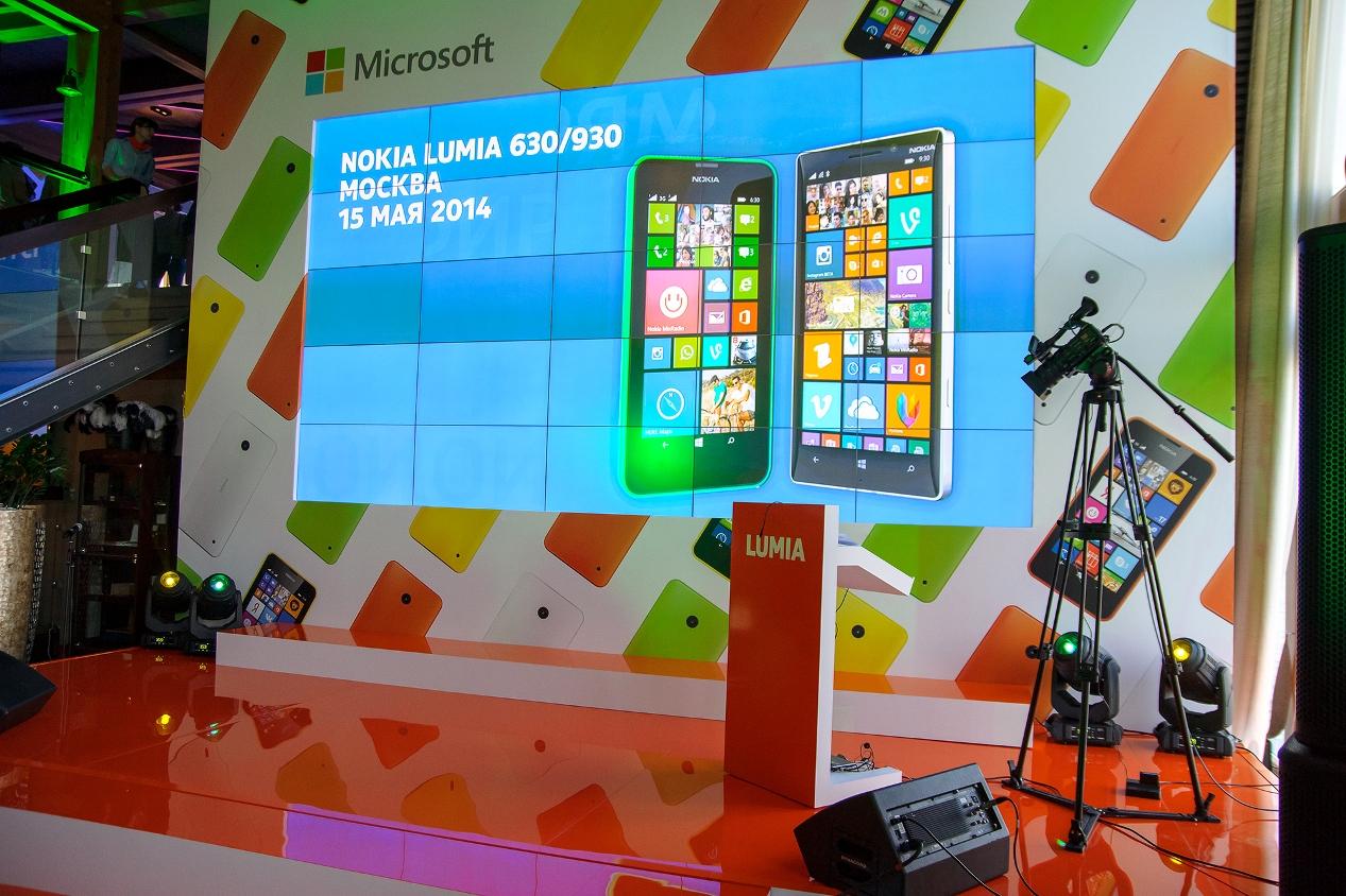 Презентация Nokia Lumia 930 и Lumia 630 в Москве