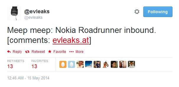 Nokia-roadrunner