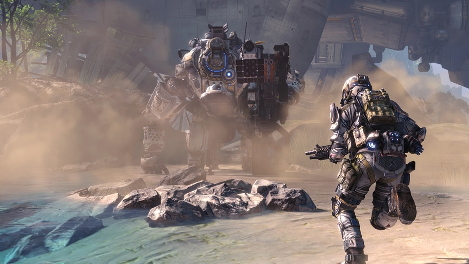 Скриншот из игры Titanfall для Xbox One