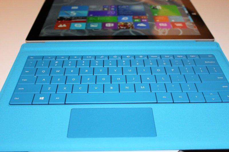 Surface Pro 3 - клавиатура