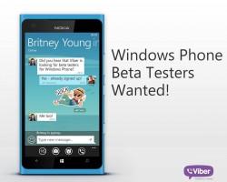Viber ищет бета-тестеров нового приложения для Windows Phone