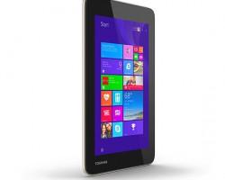 Toshiba представила семидюймовый планшет на базе Windows 8.1