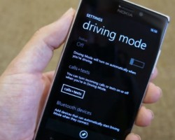 Настраиваем «Driving mode» в Windows phone 8