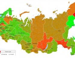 В России: карта распространения нелицензионного ПО в компьютерных магазинах