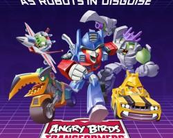 Angry Birds Transformers — первый трейлер (видео)