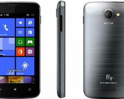 Fly Era Windows— самый дешёвый WP-смартфон вРоссии