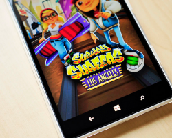 В Subway Surfers новая локация — Голливуд