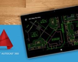 AutoCAD 360 — официальный клиент для Windows 8.1/RT