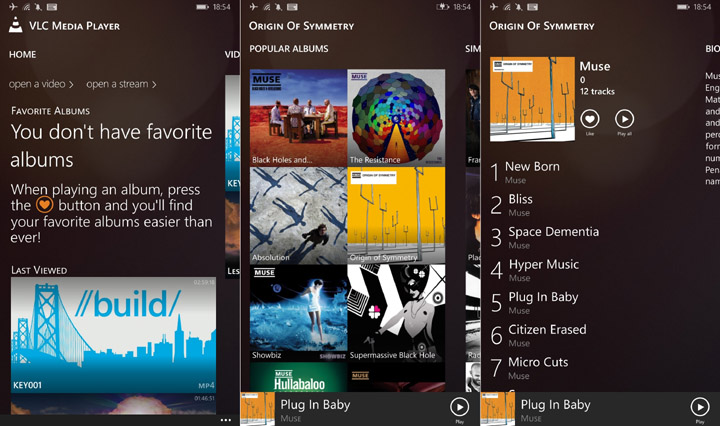 VLC для Windows Phone 8.1