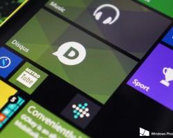 Disqus для Windows Phone получил прозрачную плитку