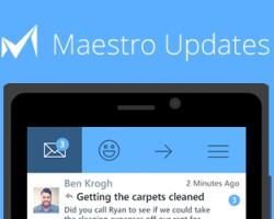 Preview-версия почтового клиента Maestro выйдет в понедельник