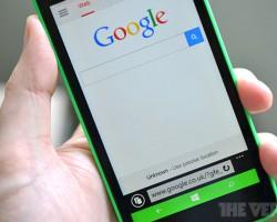 Google — больше не поисковик по умолчанию на Windows Phone в США