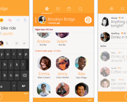 Разработчики Foursquare опубликовали скриншоты приложения Swarm для Windows Phone