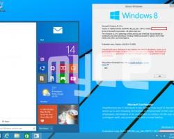 Всеть попали ещё два скриншота Windows9