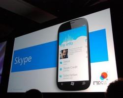 Мобильная версия Skype для Windows Phone 7.8 прекращает работу