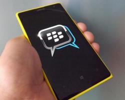 Вмагазине Windows Phone появился мессенджер BlackBerry