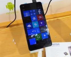 eSense Q47— тонкий и лёгкий смартфон сWindows Phone8.1 за110 долларов
