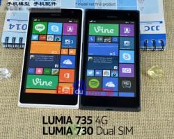 Nokia Lumia 730 и Nokia Lumia 735 — фотографии