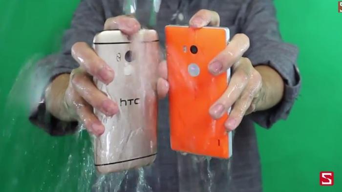 Lumia 930 в Ice Bucket Challenge