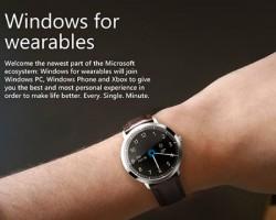 «Умные часы» от Microsoft (Концепт)