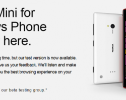 Opera набирает команду бета-тестеров браузера для Windows Phone8