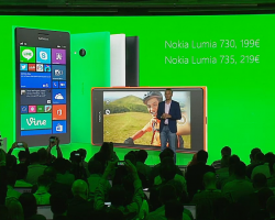 Lumia 730 иLumia 735 представлены официально