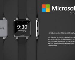 Новый концепт умных часов Microsoft