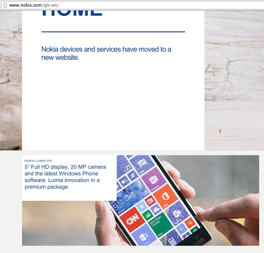 Microsoft Mobile Devices сайт-3