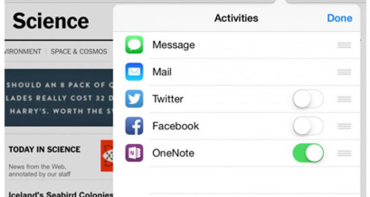 One Note для iOS