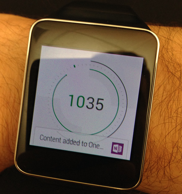 One Note Smart Watch