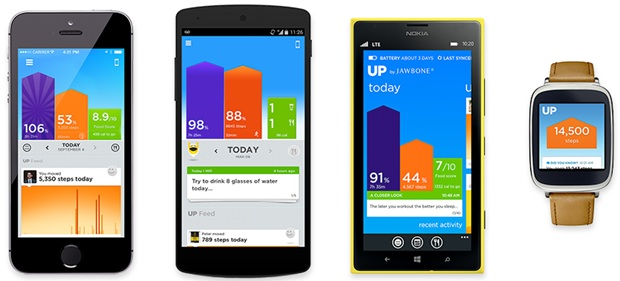 Jawbone UP для Windows Phone
