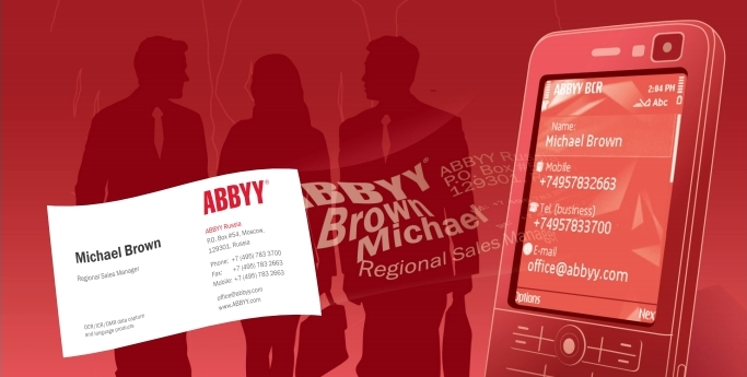 Abbyy business card reader торрент