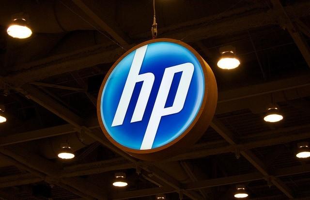 Логотип компании HP