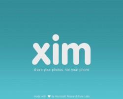 Xim — новый способ обмена фотографиями от Microsoft [ОБНОВЛЕНО]