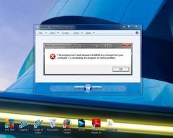 Решение проблемы с отсутствием файла ATL100.DLL